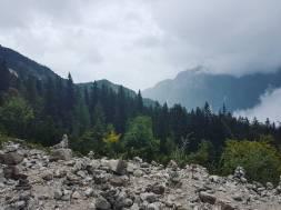 Vrsic Pass, Slovenia.